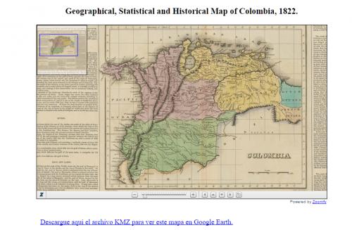Tomado de la mapoteca digital de la Biblioteca Nacional de Colombia. URL: http://www.bibliotecanacional.gov.co/tools/marco.php?idcategoria=44649